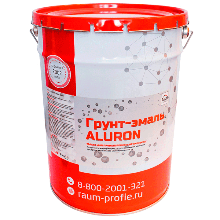 Primer-enamel on metal ALURON