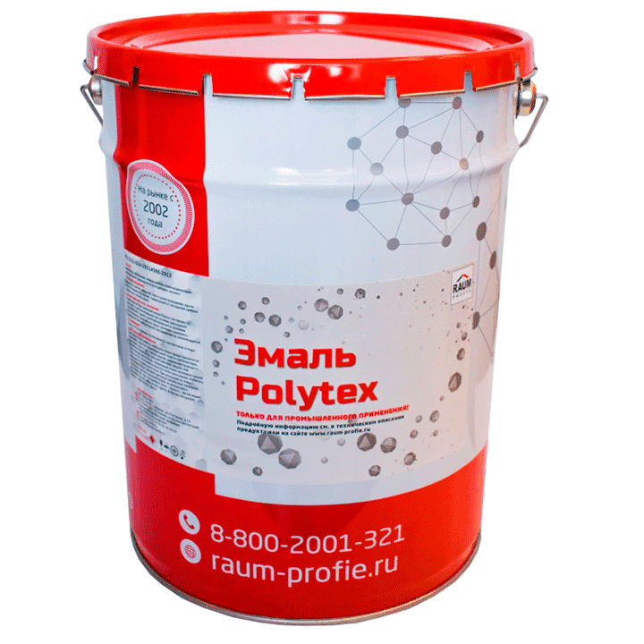 Enamel on metal Polytex ST